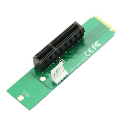 NGFF M.2 To PCI Express x1 Slot Riser Card Adapter